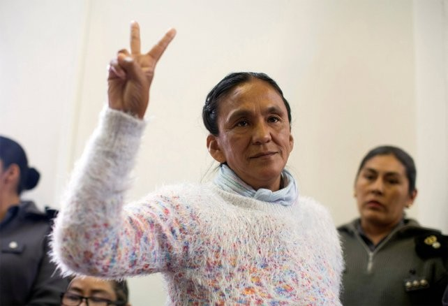 Ordenan restituir el arresto domiciliario de Milagro Sala