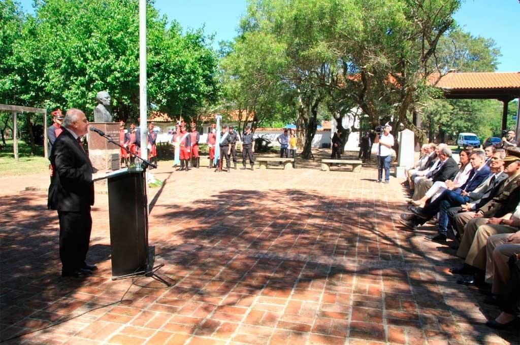 El Gobernador presidió el acto central en Cayastá