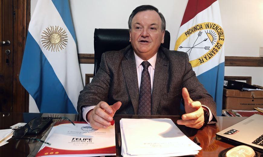 Felipe Michlig propone una mesa de diálogo y trabajo conjunto entre los Poderes Ejecutivo y legislativo