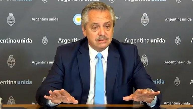 """Alberto Fernández: """"Quiero que las tierras improductivas del Estado vayan a manos que produzcan"""""""
