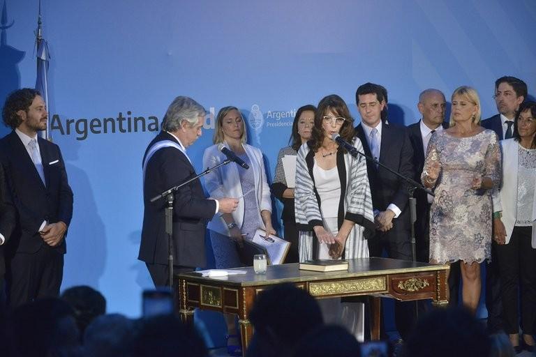 Alberto Fernández le ofreció a María Eugenia Bielsa ser embajadora ante la UNESCO