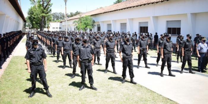 Egreso de cadetes del ISeP: Se incorporaron 391 nuevos policías a la provincia