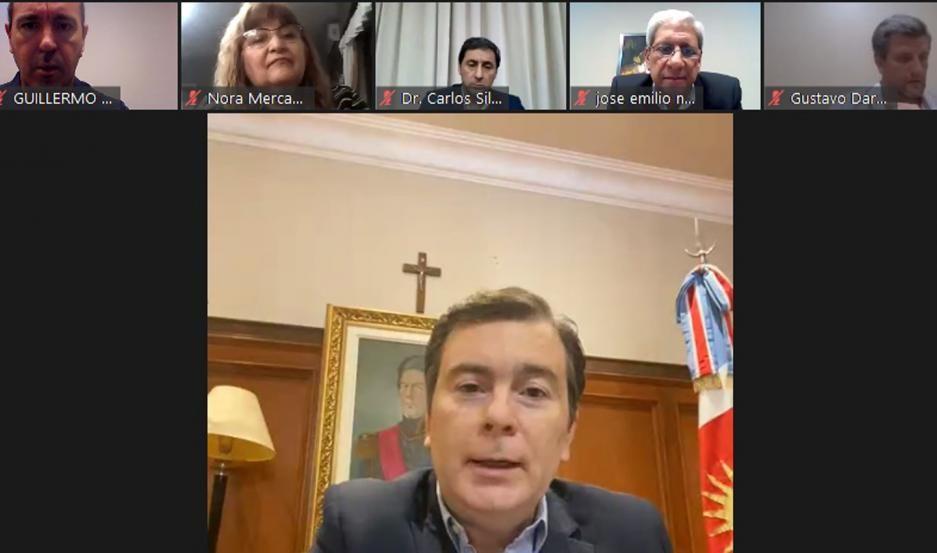 Acto virtual del PJ santiagueño por el Día del Militante