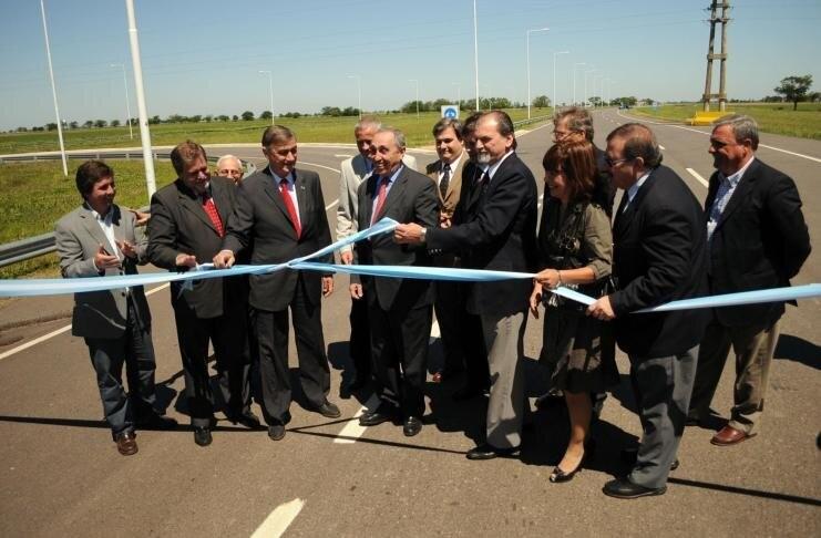 Pirola resaltó la figura de Obeid en la construcción de la autovía RN 19 y el corredor bioceánico