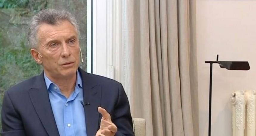 """Mauricio Macri: """"Siento que somos más del 41 por ciento"""""""