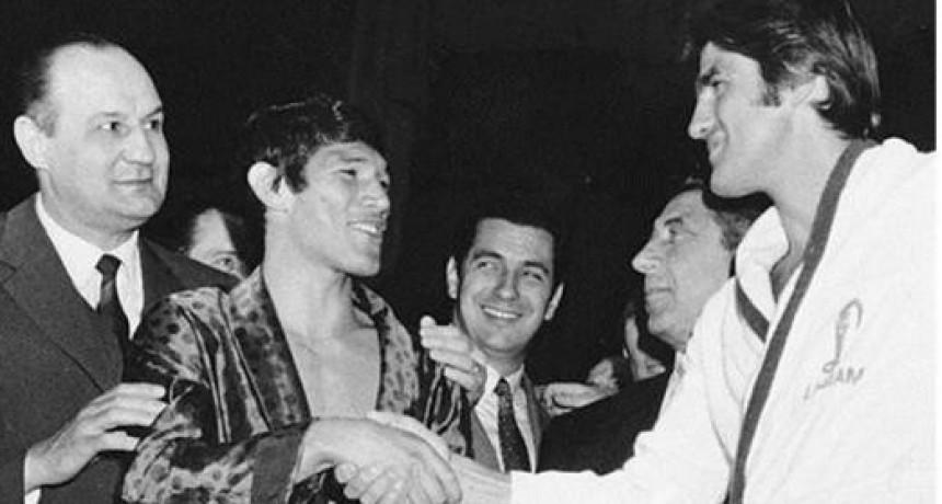 Los 50 años del KO de Monzón a Benvenuti: el aniversario de una acuarela de colección