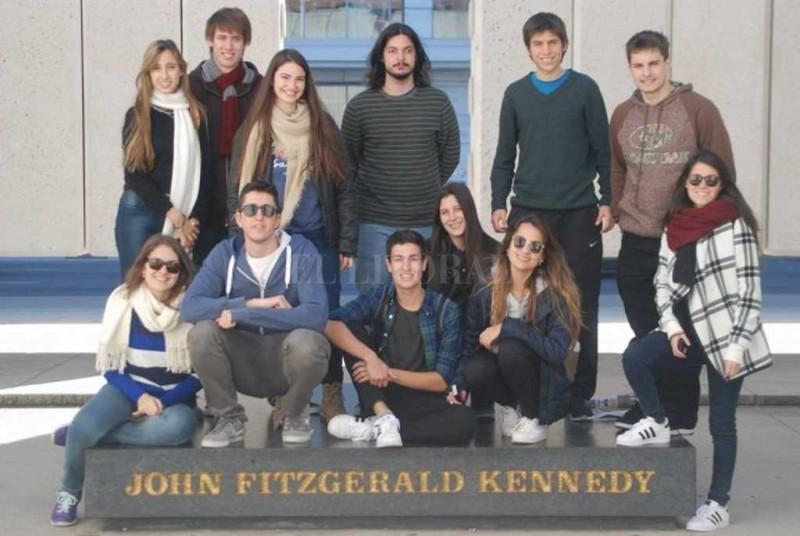 6 estudiantes de la UNL becados para cursar en Estados Unidos