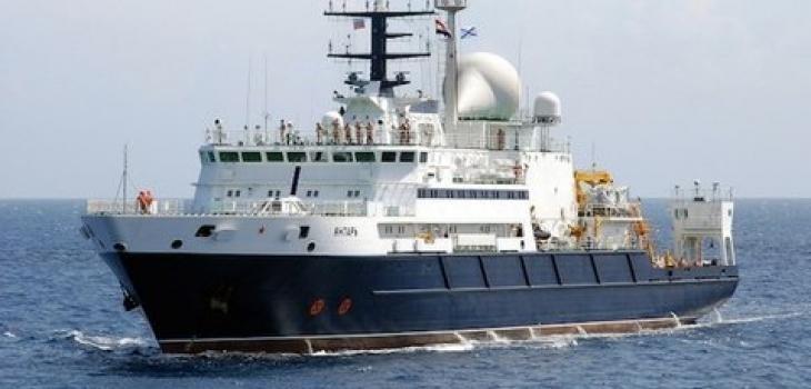 Llega el buque ruso