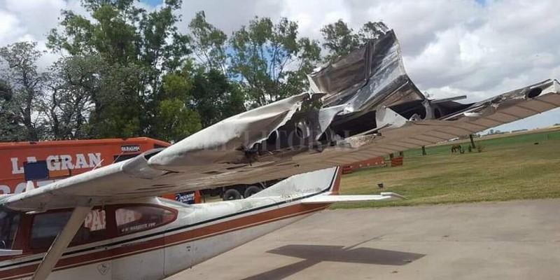 Video: Marcos Di Palma volvió a accidentarse con su avión