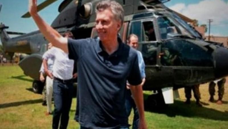 Mauricio Macri ya descansa en Córdoba por el fin de semana largo