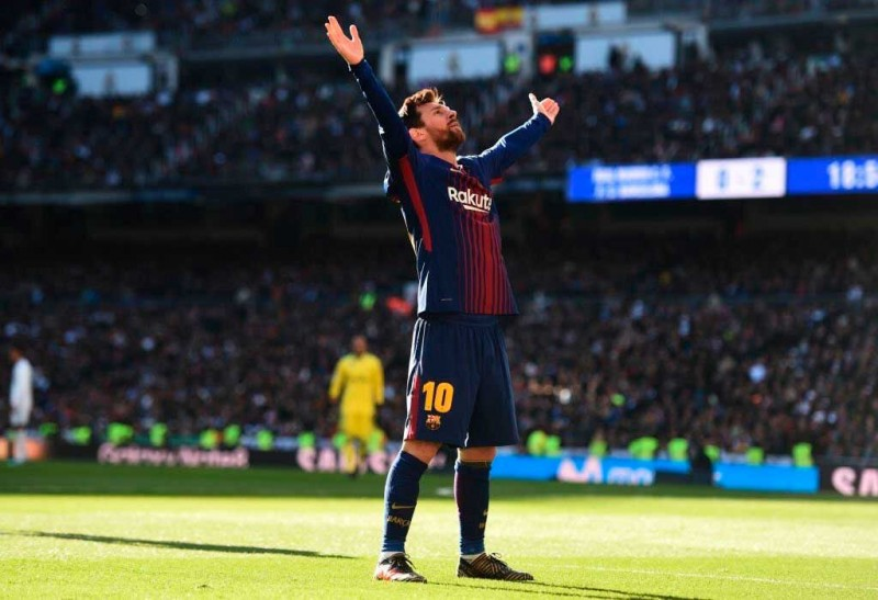Goleada de Barcelona en el clásico ante Real Madrid