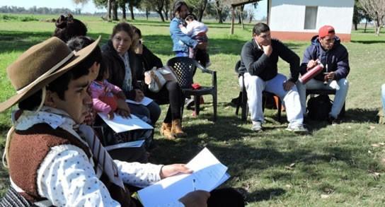 La Gallareta: reconocen a participantes del programa provincial Raíces