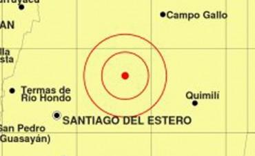 Se registró un sismo en Santiago del Estero