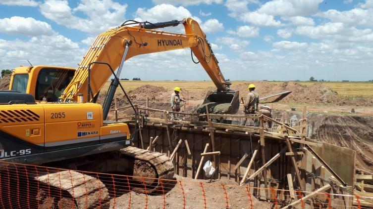 La provincia minimizó el riesgo hídrico en áreas urbanas