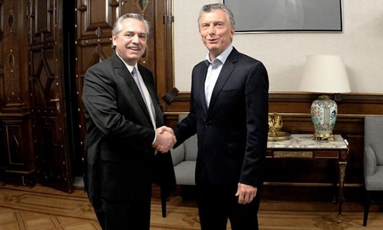 Macri y Fernández asistieron a una misa