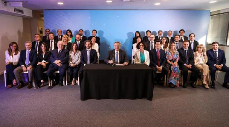 """Alberto Fernández: """"Este Gabinete refleja la unidad sobre la que se construyó el Frente de Todos"""""""