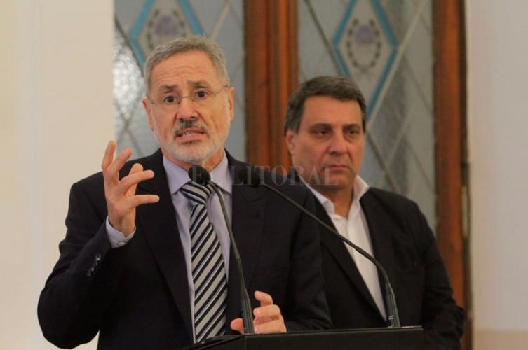 El ministro Saín anunció las primeras medidas