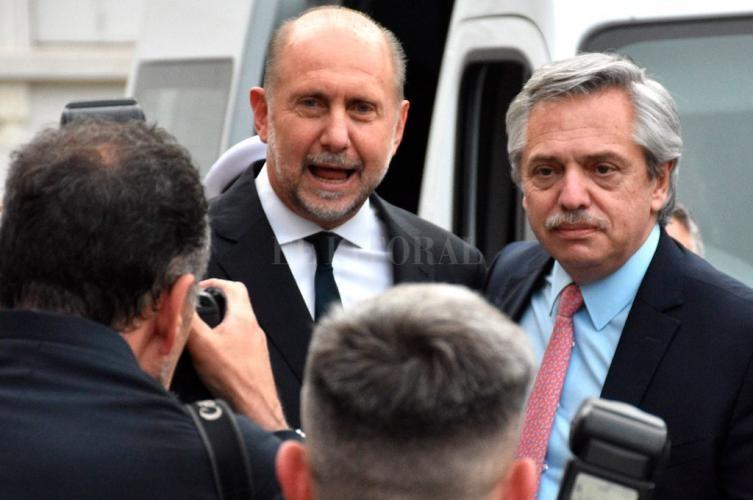 Perotti confirmó que no hubo marcha atrás en el reclamo por coparticipación