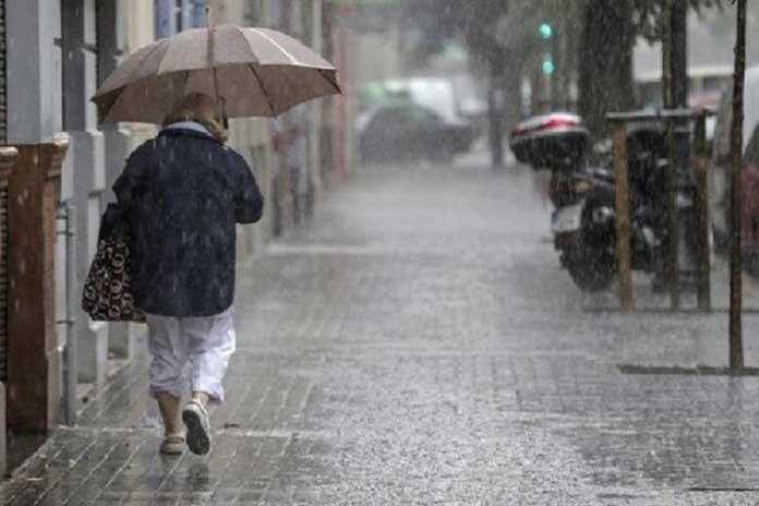 Alerta meteorológico para el centro y norte de la provincia