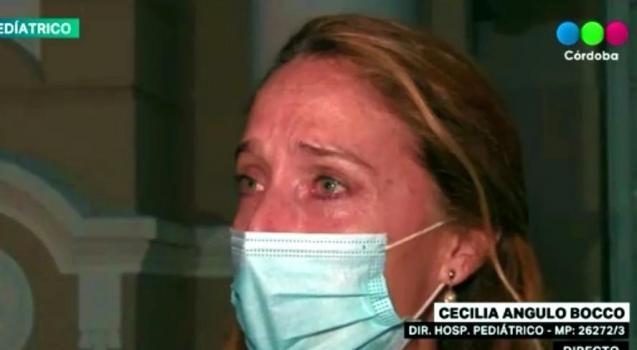 El llanto de una médica cordobesa por un colega fallecido por Covid-19: