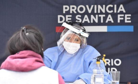 Santa Fe confirmó este jueves otros 1.380 contagios y 37 muertes de personas con Covid