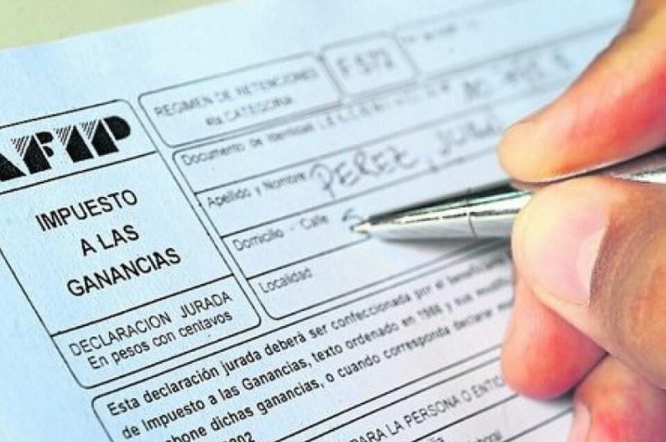 ¿Cuál será el salario más bajo alcanzado por Ganancias?