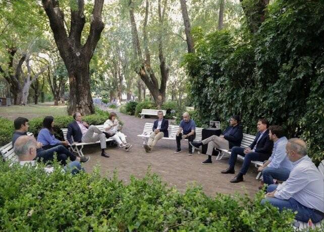 Angelini participó de la primera cumbre presencial del PRO con Macri, Larreta, Vidal y Bullrich