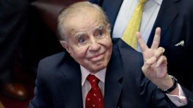 Internaron a Carlos Menem luego de que se descompensara en su casa de Belgrano
