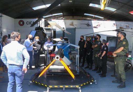 Así son los helicópteros no tripulados que incorporó el Ministerio de Seguridad de Santa Fe