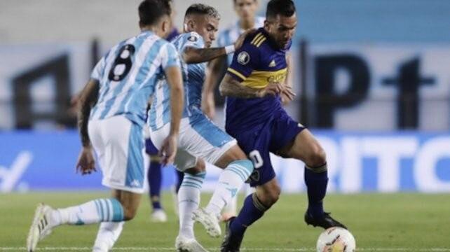 Racing le sacó ventaja a Boca tras la ida de los cuartos de final de la Copa Libertadores