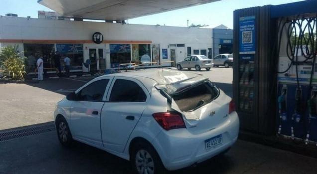 Tragedia en Tapiales: se salió la rueda de auxilio de un camión y mató a una mujer en una estación de servicio