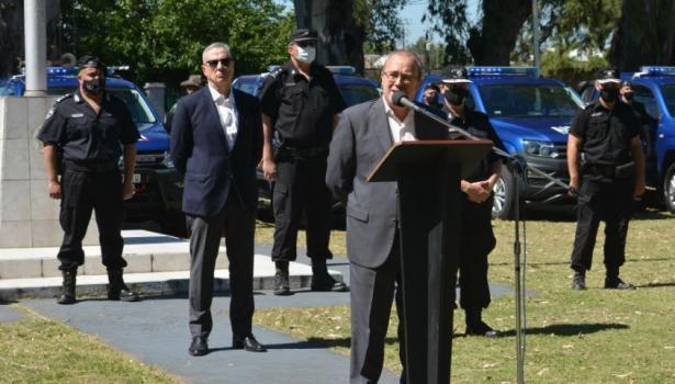 """Montenegro: """"Estamos reformando y modernizando la policía de Santa Fe a fondo"""""""