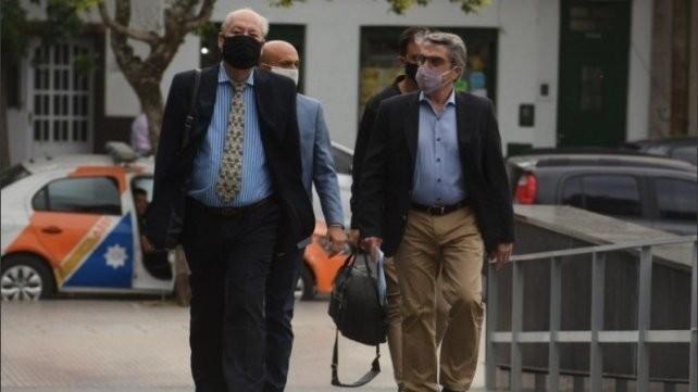 Contrapunto entre Traferri y su abogado por el mandato de Perotti