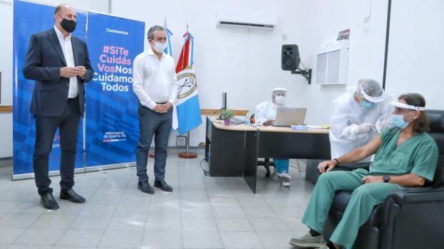 """Perotti: """"Vamos a desplegar el más ambicioso plan de vacunación en el menor tiempo posible"""""""