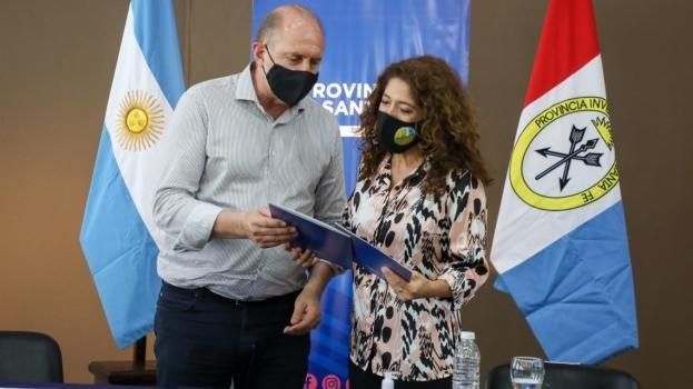 Perotti anunció que la provincia construirá una terapia intensiva en el Hospital de Vera