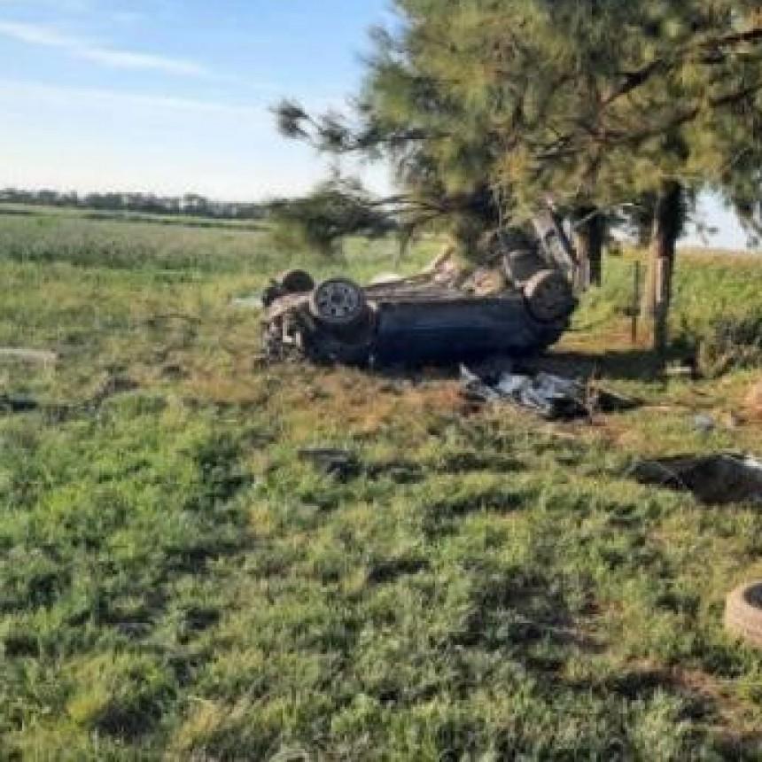 Tragedia cerca de Suardi: el vuelco de un auto dejó tres adolescentes fallecidas y otra en grave estado
