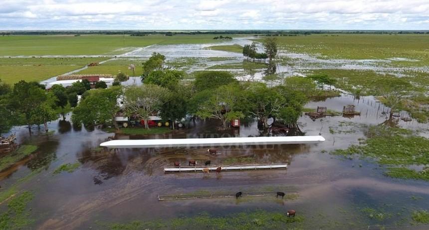 Sube a 216 la cantidad de evacuados en los departamentos del norte provincial