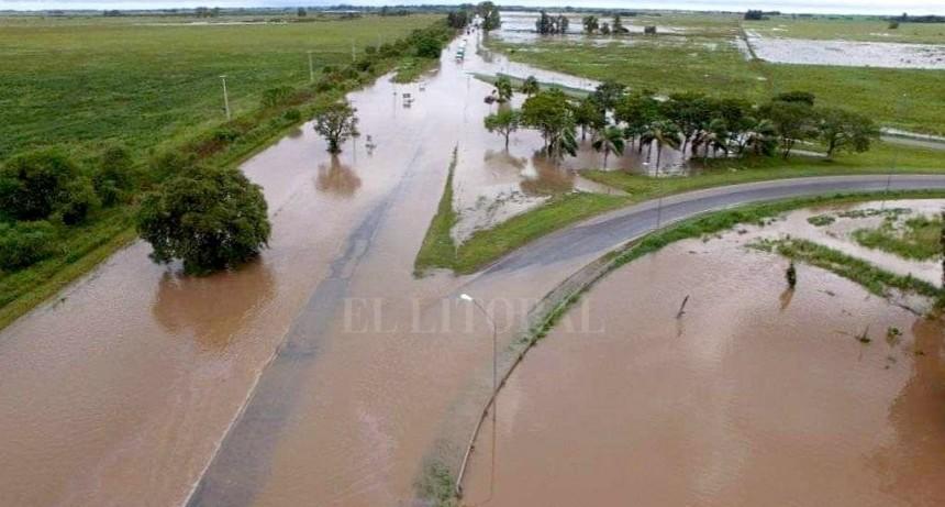 Emergencia hídrica: cuáles son las rutas que están cortadas