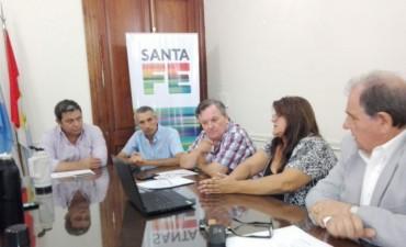 El Senador Michlig mantuvo una audiencia con el Ministro de Obras Públicas Pedro Morini por obras del Dpto. San Cristóbal