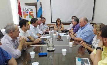 El Senador Michlig junto a una comitiva de Suardi se reunieron con la Ministra de la Producción, Alicia Ciciliani