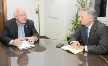 Lifschitz analizó con Aranguren las bioenergías