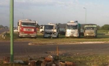 En las rutas santafesinas hay nueve protestas de camioneros