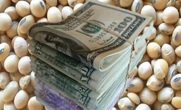Suba de U$S 6,70 de la soja, ayer lunes en Chicago