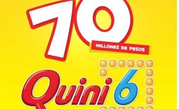 El domingo se vienen los $70 millones del Quini 6