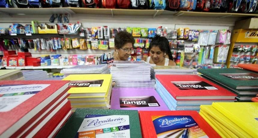 Hay artículos de librería en el Programa de Precios Cuidados