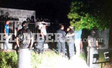 Se entregó el narco atrincherado que amenazaba con hacer explotar una granada