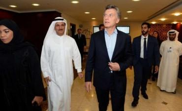 Mauricio Macri ya está en Dubai y dio inicio a la gira por Asia en busca de inversiones