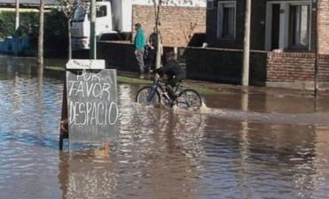 Melincué ruega por buen tiempo para salvarse de la inundación