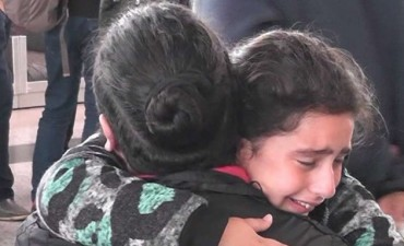 Así se despidió la familia siria de la Argentina