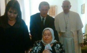Tras ser procesada, Bonafini difundió una carta que le mandó el papa Francisco